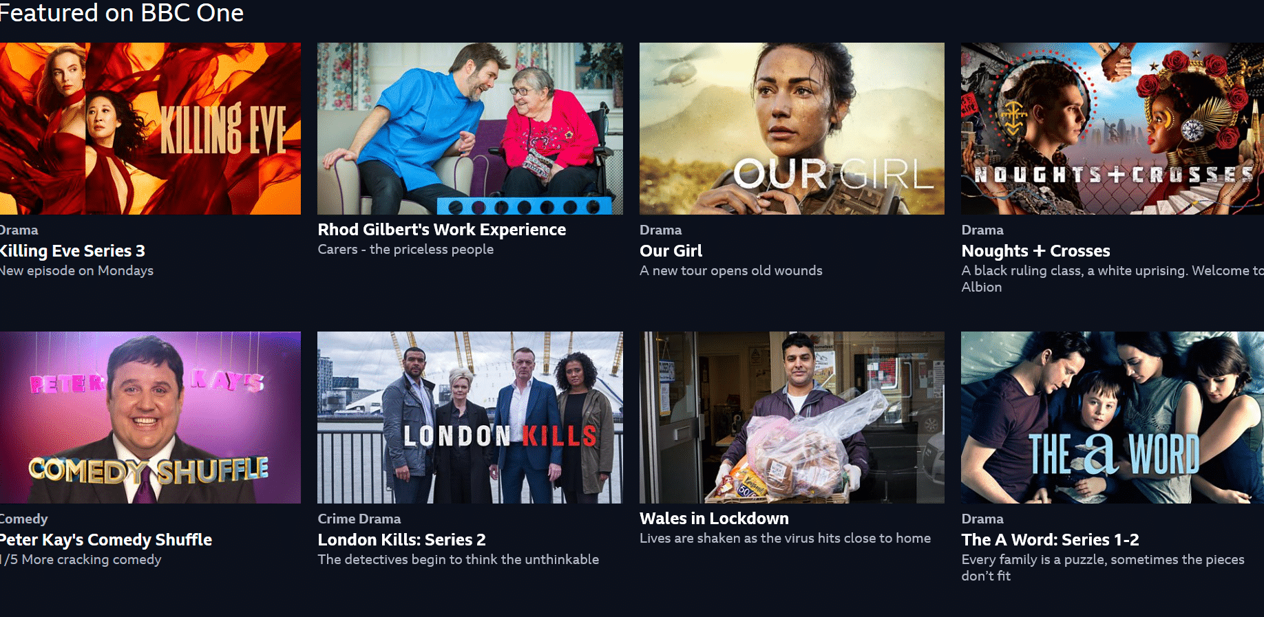 BBC iplayer abroad - featured on BBC One