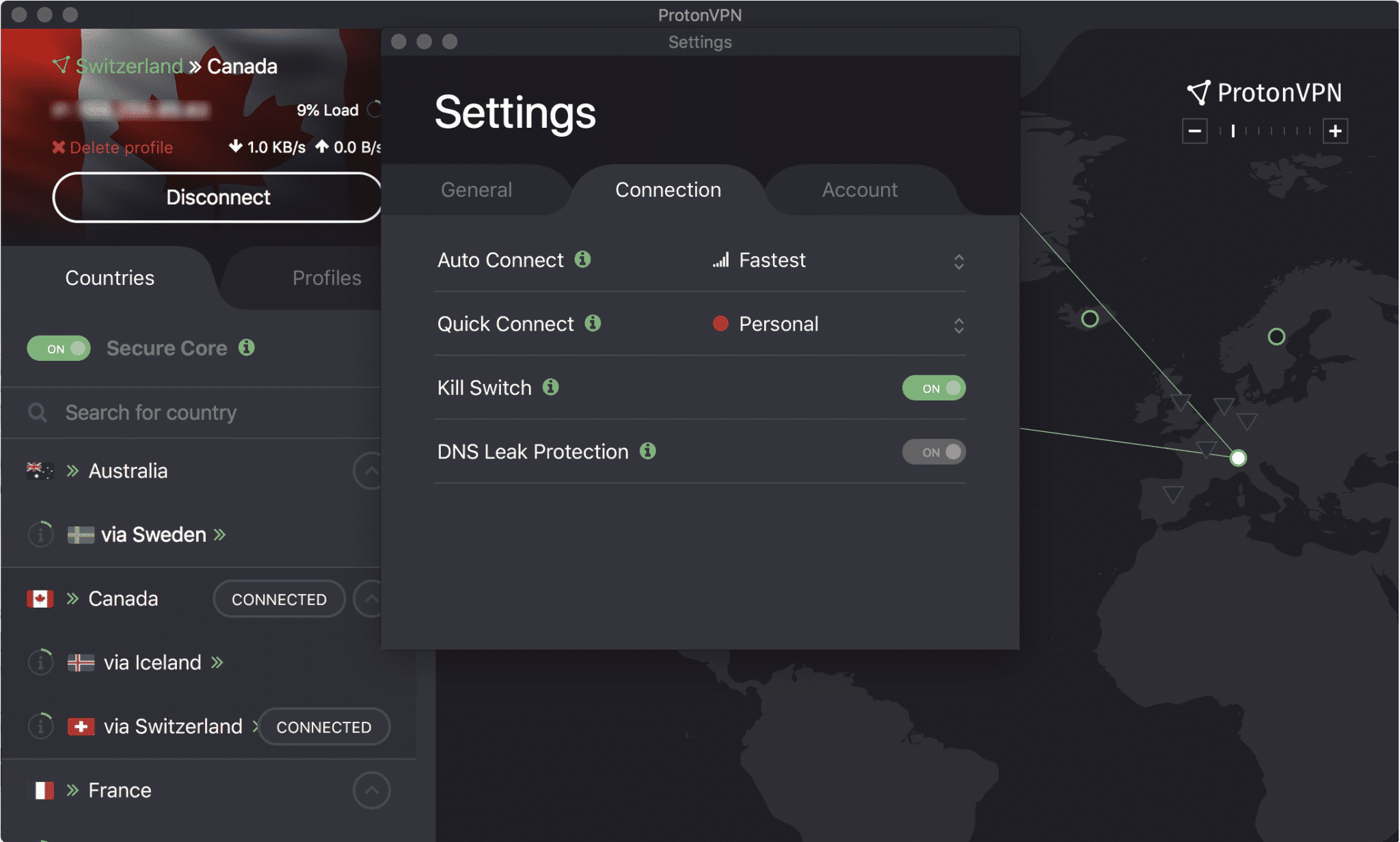ProtonVPN Killswitch