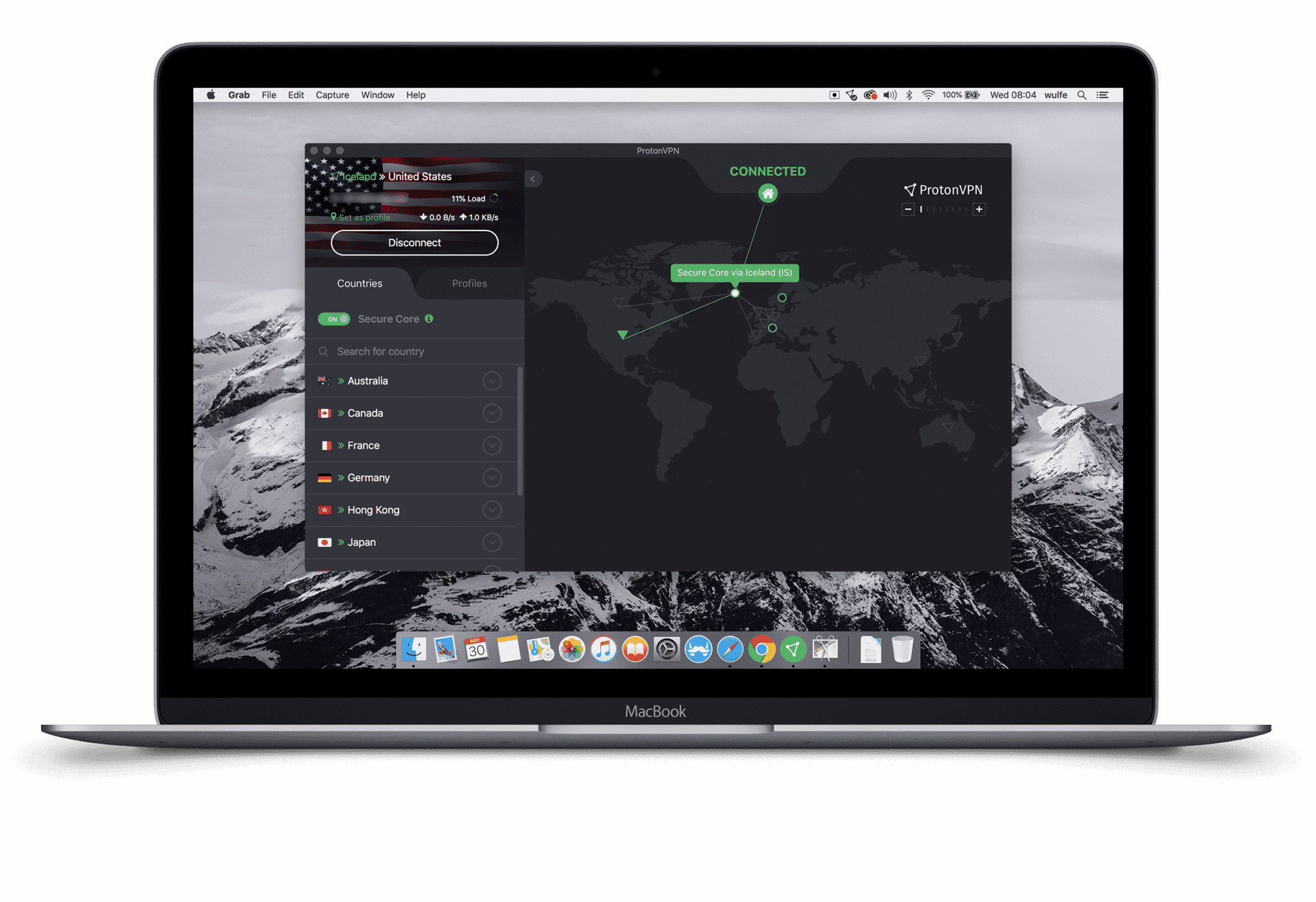 ProtonVPN on Mac