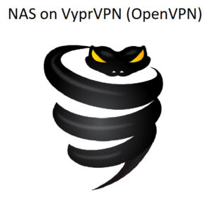 How to setup NAS on VyprVPN using OpenVPN?