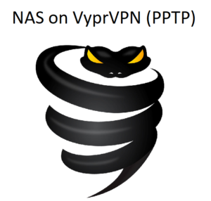 How to setup NAS on VyprVPN using PPTP?
